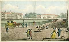 Bloomsbury Square in 1787