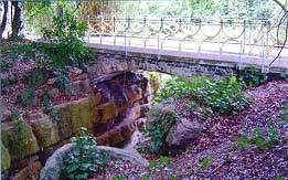 The Bridge over the 'rocky ravine' at Park Hill