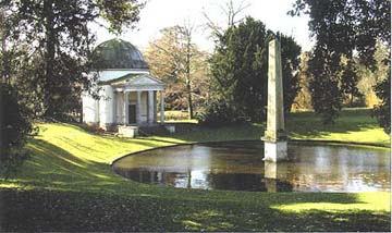 Chiswick House: The Orange Tree Garden, Obelisk Pond and Temple. (Photo: Hazelle Jackson)