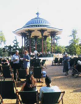 The restored bandstand on Clapham Common (Marcus Hope)
