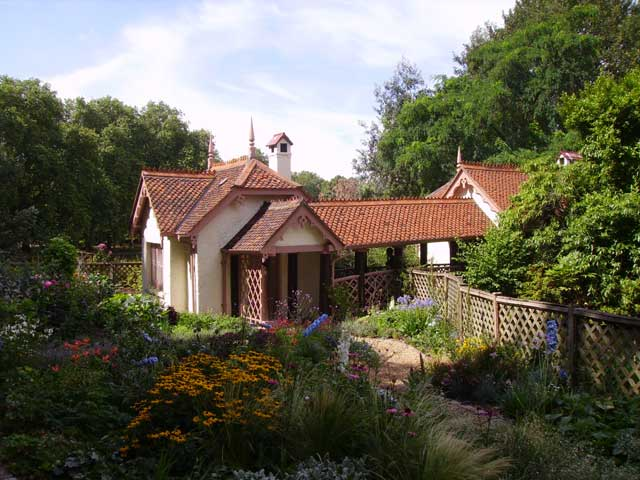 Duck Island Cottage - headquarters of the London Parks & Gardens Trust
