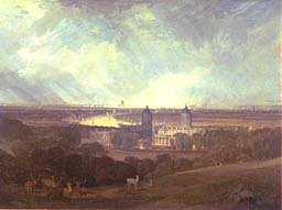 London from Greenwich (LMW Turner)