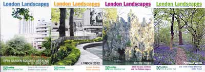 Past issues of London Landscapes, the Trust's newsletter