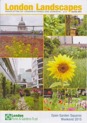 The Cover of London Landscapes no. 40