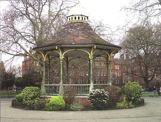 Playground Kensington Gardens Garden Ftempo