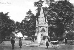 Baroness Burdett-Coutts's drinking fountain in Victoria Park